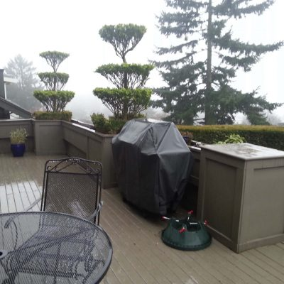 outdoor space design before